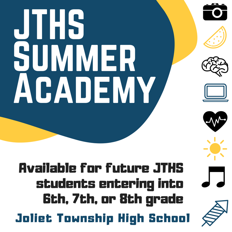 JTHS Offers FREE Summer Academy for 6th, 7th & 8th graders