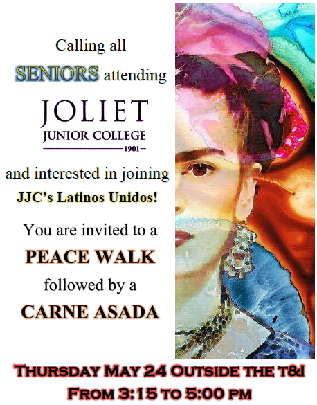 JCHS Club Puentes to host annual Peace Walk with JJC Latinos Unidos